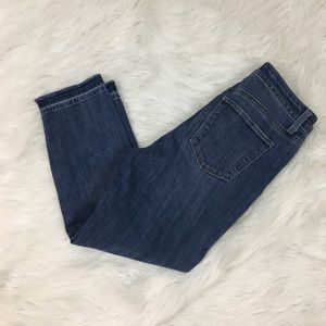 Talbots flawless five pocket cropped jeans
